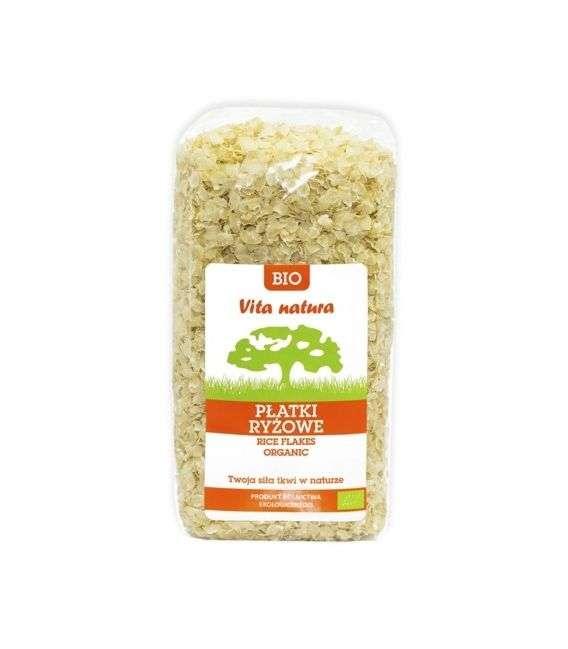 Płatki ryżowe bio - 400g - Vita Natura