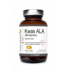 Kwas R ALA Alfa Liponowy - 60kaps - Kenay