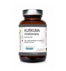 Kurkuma Micelizowana Licaps - 60kaps - Kenay