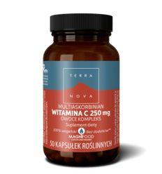 Witamina C 250mg Multiaskorbinian Owoce Kompleks - 50kaps - Terranova
