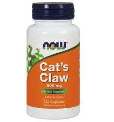 Cat`s Claw (Koci Pazur) 500mg - 100kaps - NOW