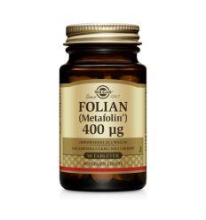 Folian Metafolin 400mcg - 50tabl - Solgar