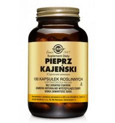 Pieprz Kajeński - 100kaps - Solgar