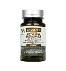Naturalna Witamina B12 Metylokobalamina 1000ug - 60kaps - Singularis