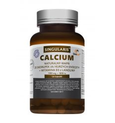 Naturalne Calcium z Jaj Kurzych - 60kaps - Singularis