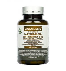 Naturalna Witamina B12 1000ug Metylokobalamina - 120kaps - Singularis