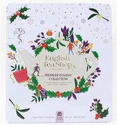Zestaw Herbatek Świątecznych W Białej Puszce - 108g - EnglishTeaShop