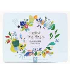 Kolekcja Herbat w Ozdobnej Puszce Wellness Collection - 36sasz - English Tea Shop