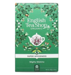 Herbata Zielona Mighty Matcha Bio 20x1,75 - 35g - English Tea Shop