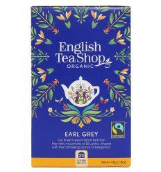 Herbata earl grey organic - 20x2,25g - English Tea Shop