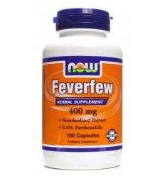Feverfew 400mg - 100kaps - NOW