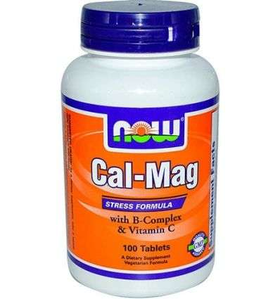 Cal-Mag antystres - 100tabl - NOW