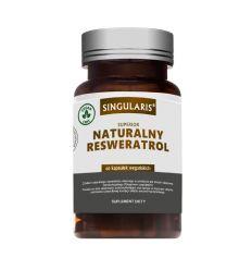Naturalny resweratrol - 60kaps - Singularis