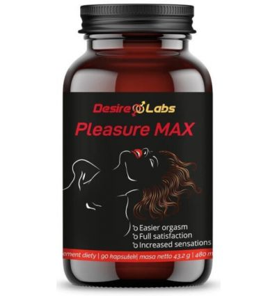 Pleasure Max - 90 kapsułek - Desire Labs