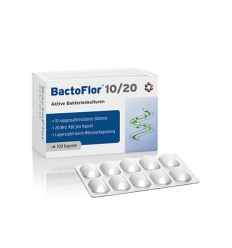 Bactoflor 10/20 - 90kaps - Intercell Pharma