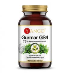 Gurmar GS4 75% kwasów gymnemowych - 60kaps - Yango
