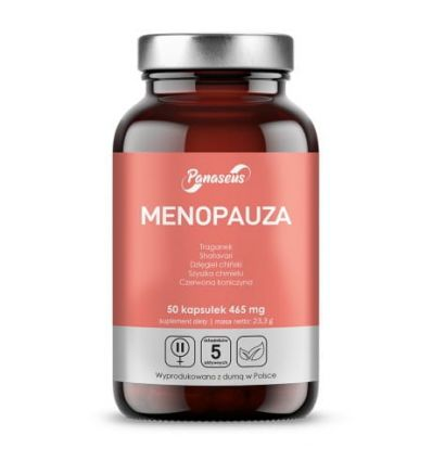Menopauza - 50kaps - Panaseus