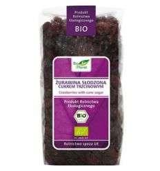 Żurawina słodzona cukrem trzcinowym bio - 400g - Bio Planet
