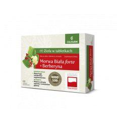 Morwa Biała Forte + Berberyna - 60tabl - Colfarm