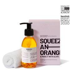 Zestaw olejek do demakijarzu, ręcznik 2w1 - Veoli Botanica