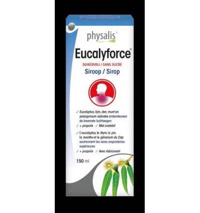Syrop Eucalyforce Bio - 150ml - Physalis