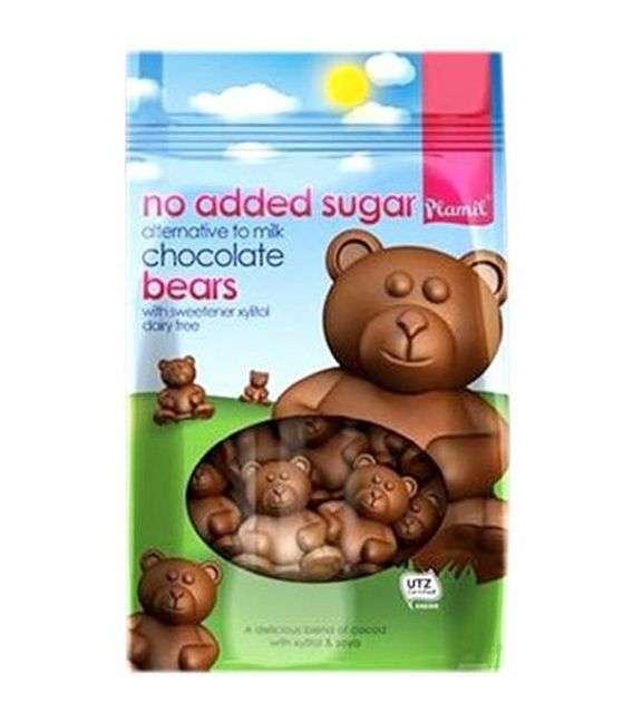 Misie czekoladowe o smaku mlecznej czekolady - 125g - AKA -
