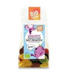 Galaretki owocowe bez żelatyny bio - 100g - Bio Minki -
