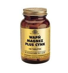 Wapń Magnez Cynk - 100tabl - Solgar