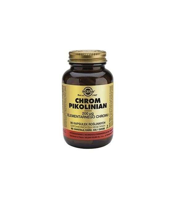 Chrom Pikolinian 200ug - 90kaps - Solgar