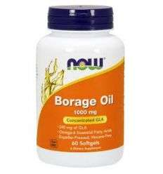 Borage Oil 1000mg - 60kaps - NOW