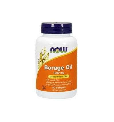 Borage Oil 1000mg - 60kaps - NOW
