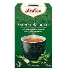 Herbata Green Balance (zielona harmonia) - 17x1,8g - Yogi Tea