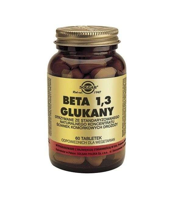 Beta 13 glukany - 60tabl - Solgar