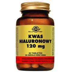 Kwas Hialuronowy 120mg - 30tabl - Solgar