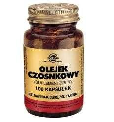 Olejek czosnkowy - 100kaps - Solgar